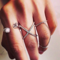 open--chained-and-criss-cross-ring